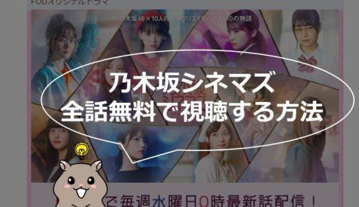 『乃木坂シネマズ ~STORY of 46~』の動画をフルで無料視聴する方法!